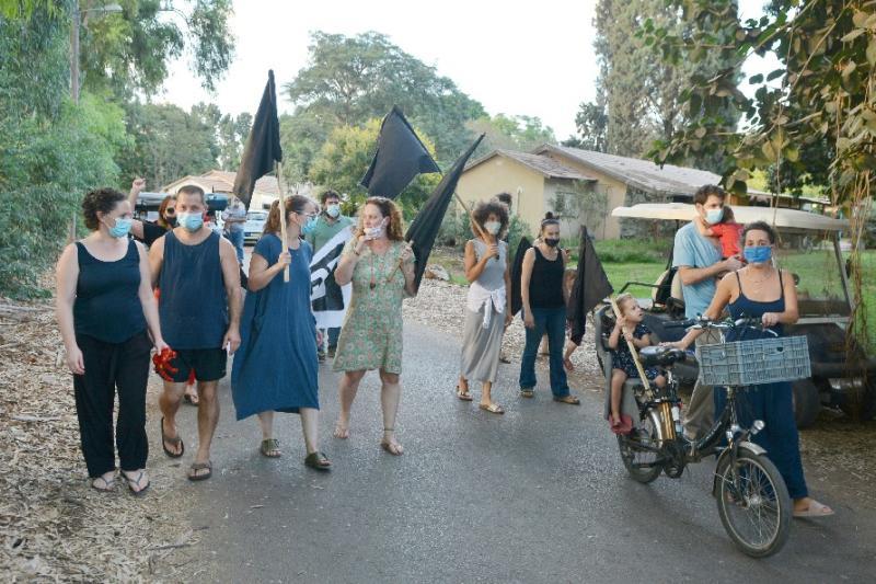קמים מהכורסה מצטרפים למחאה ב-18.10.20 | תמונות של גיל אורן