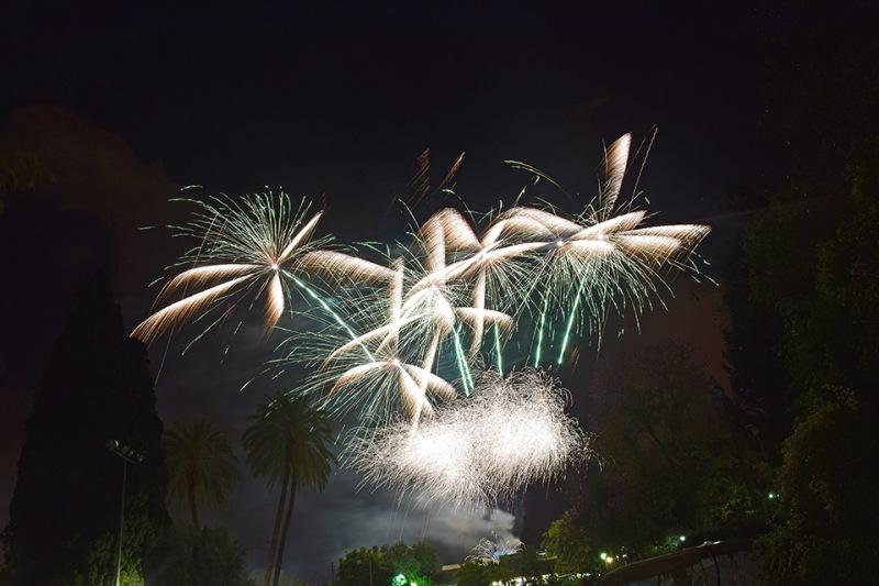זיקוקים של יום העצמאות
