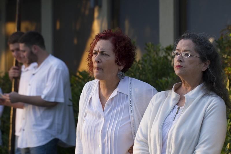 טכס יום השואה והגבורה - צילם אילן נחמיאס