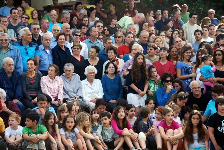 צילומים קבוצתיים של חברי גן שמואל 2010
